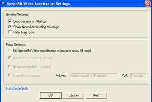 Speedbit video accelerator