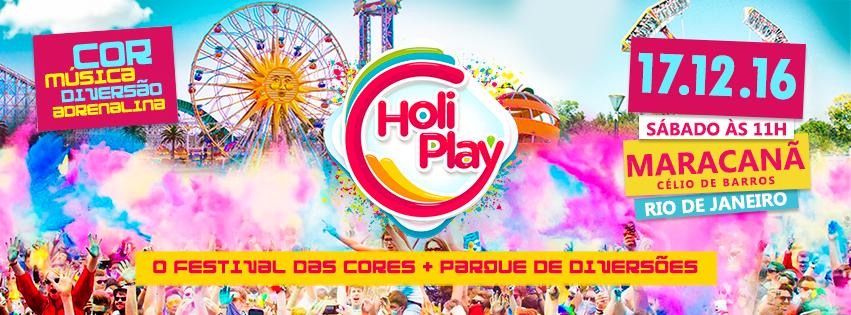 Holi Play Maracanã: festival de música e cores