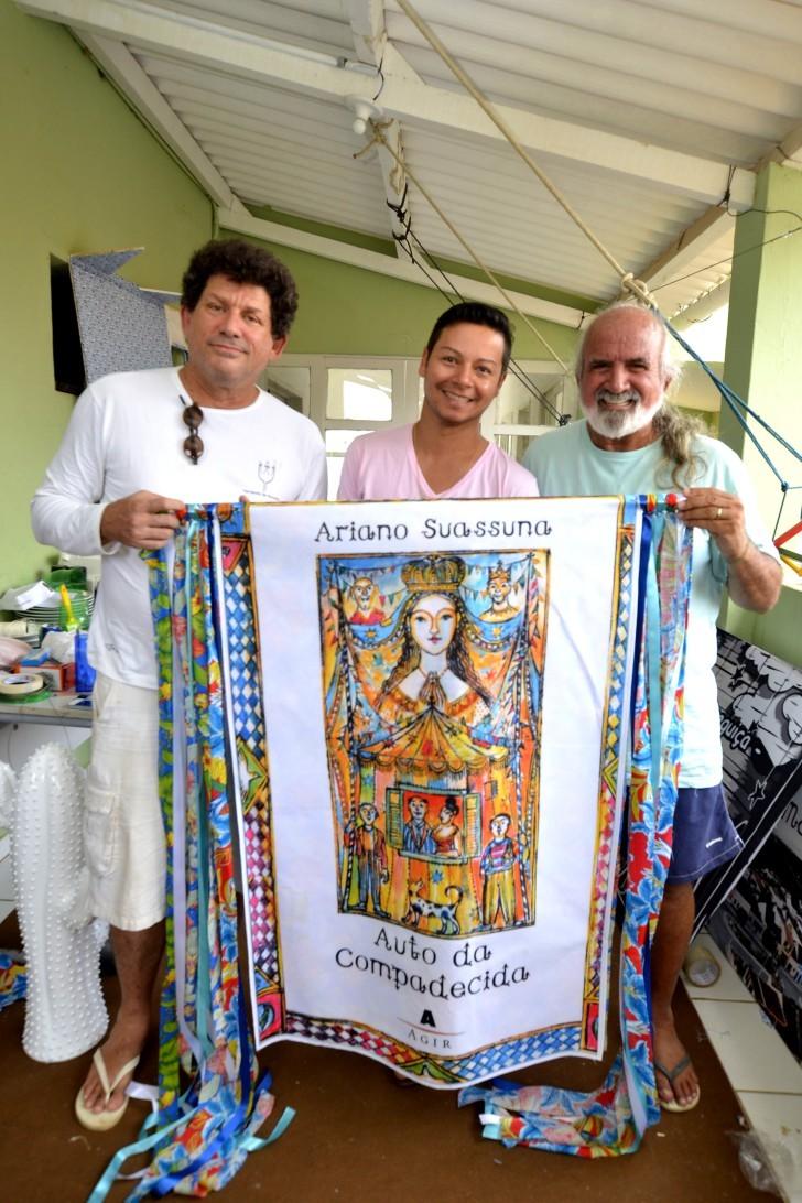 Alexandre Nóbrega, Eider Santos e Zé Maria