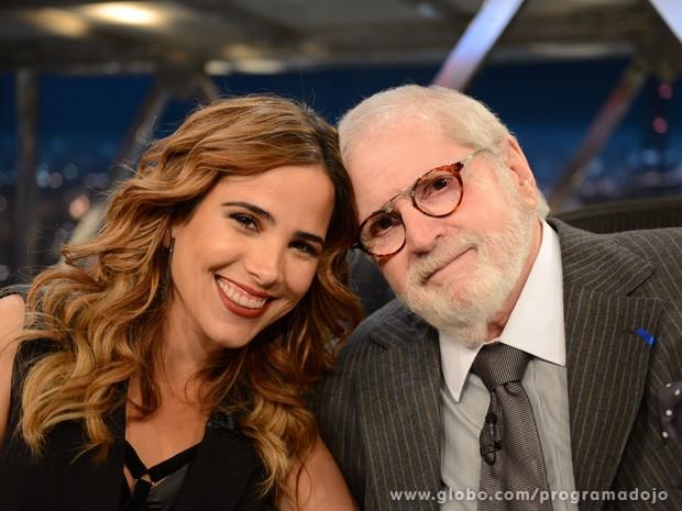 Wanessa participa do Programa do Jô desta sexta-feira (Foto: TV Globo/Programa do Jô)