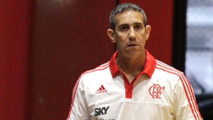 Flamengo x Brasília, José Neto, amistoso de basquete disputado no domingo (Foto: Gilvan de Souza/Flamengo)