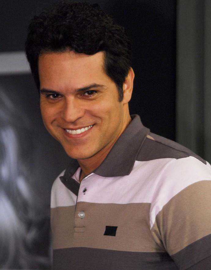Juan Alba interpretou Wagner no seriado 'Dicas de um sedutor', em 2008 (Foto: Fabrício Mota/ Globo)