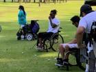 Clube do SP é pioneiro de golfe para pessoas com deficiência no Brasil