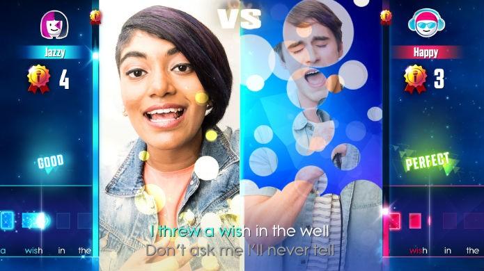 Just Sing permite travar duelos em dupla (Foto: Divulgação/Ubisoft)