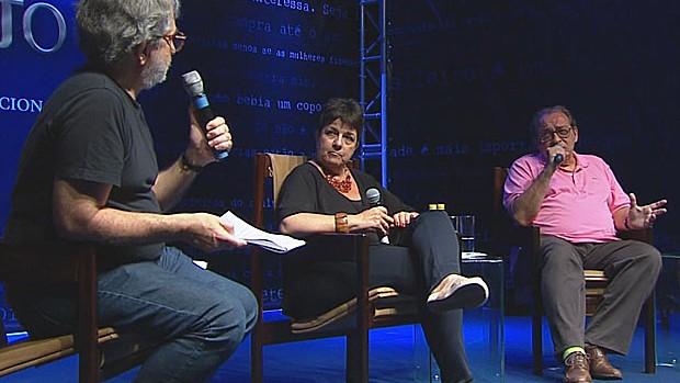 Reveja os principais painéis da Fliporto 2012 (Reprodução / TV Globo)