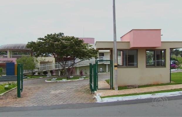 Universidade Estadual de Goiás (UEG) em Anápolis (Foto: Reprodução/TV Anhanguera)