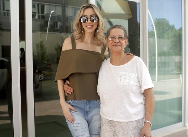 Fernanda e Geralda  (Foto: Anderson Barros/Ego)