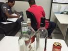 Polícia flagra adolescentes em uma festa com bebidas alcoólicas e drogas