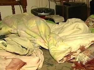 Jovem é preso suspeito de matar mulher a facadas, em Ipameri, Goiás (Foto: Reprodução/TV Anhanguera)
