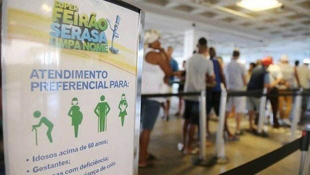 Feirão Limpa Nome da Serasa Experian (Foto: Arquivo/Agência O globo)