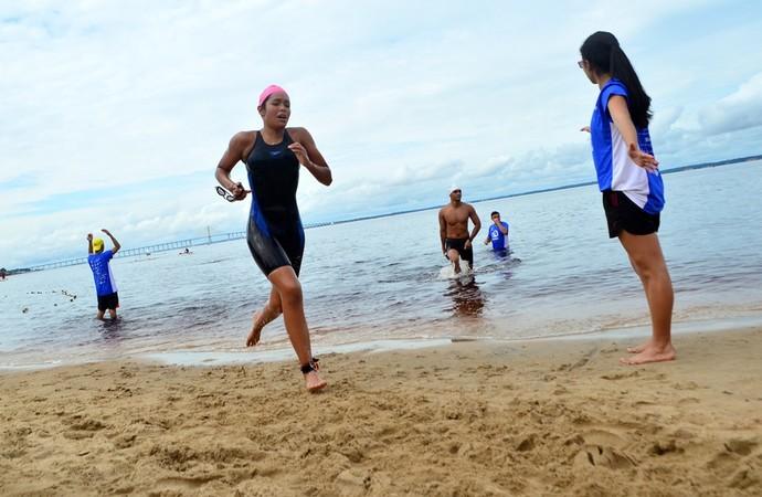 Maratona aquática amazonense (Foto: Divulgação/Emanuel Mendes)