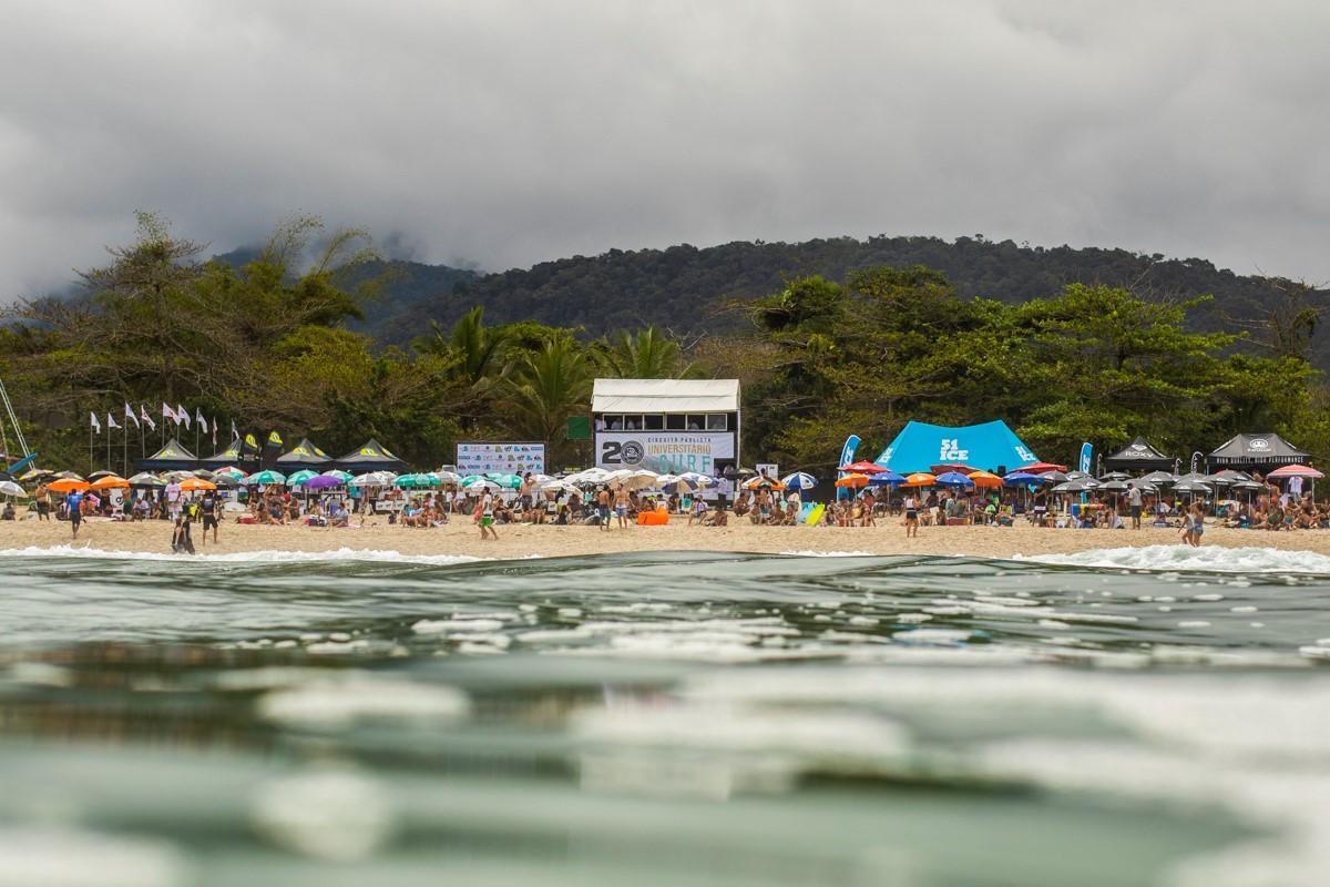 Brasileiro Univesitrio de Surf acontece em Maresias nos dias 1 e 2 de dezembro (Foto: Divulgao)
