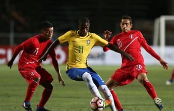 """Garotada sub-17 do Brasil não economiza nas """"canetas"""". Veja"""