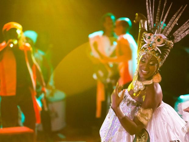 muzenza; rainha do bloco (Foto: Erivan Morais / Divulgação)