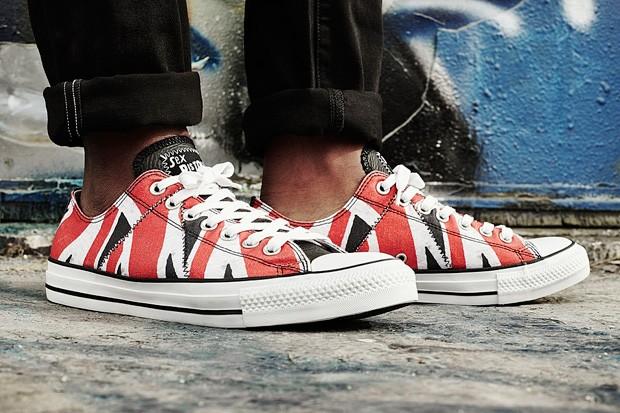 Converse All Star inspirado no Sex Pistols (Foto: Divulgação)