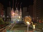 Pira da Candelária é acesa e encerra cerimônia de abertura da Olimpíada