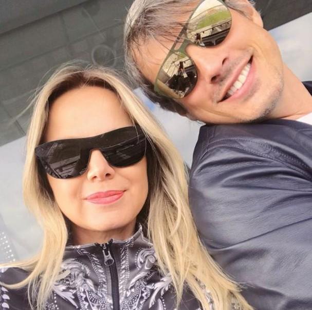 Eliana e Adriano (Foto: Reprodução/Instagram)