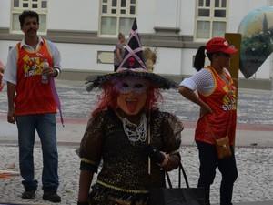 Professora aposentada Gilvanete Ferreira (Foto: Tássio Andrade/G1)