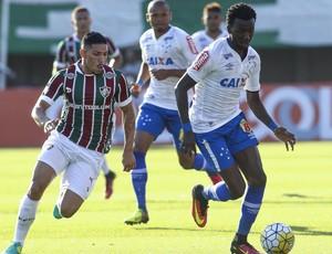 Douglas, Allano, Fluminense x Cruzeiro (Foto: Paulo Sérgio/ Light Press)