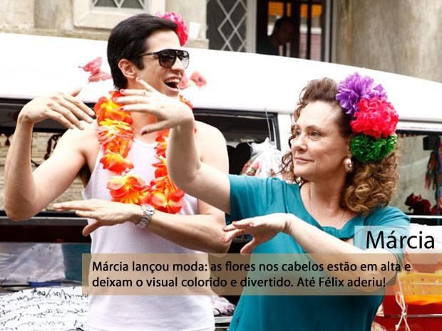 Márcia (Foto: Amor à Vida/TV Globo)
