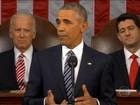 Barack Obama faz seu último discurso do estado da união