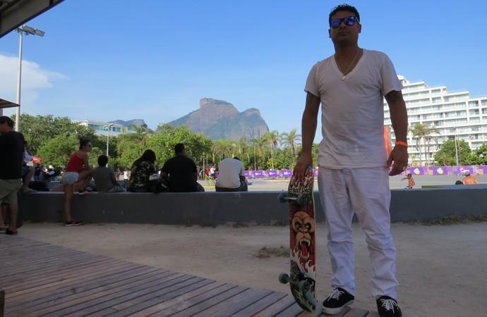 Douglas Ugry, nos Jogos Cariocas de Verão (Foto: Eu atleta)