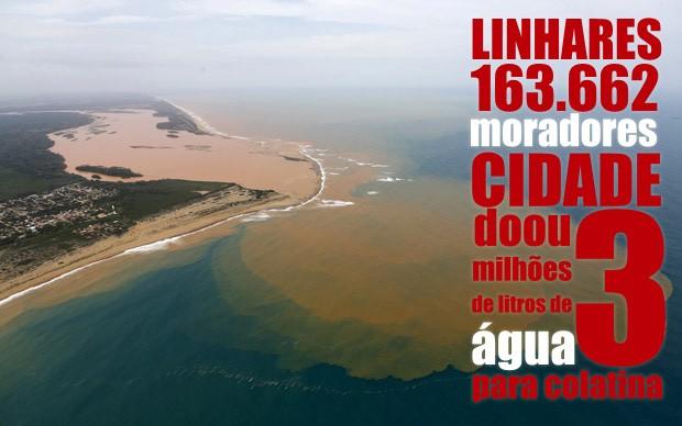 Dados Linhares Rio Doce (Foto: Arte/ G1)