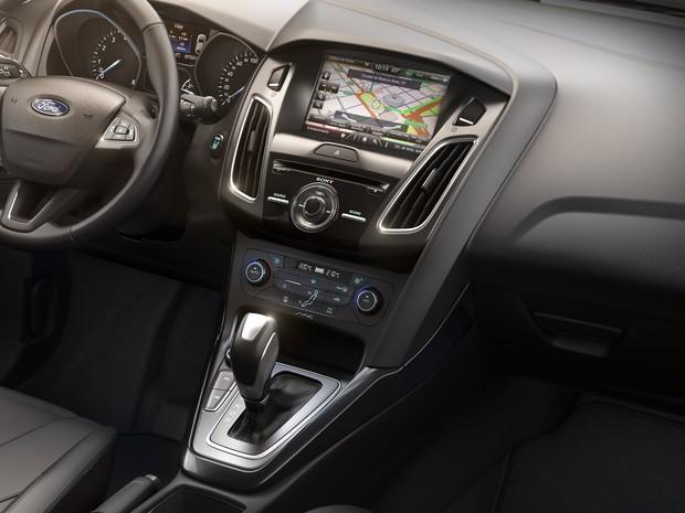 Interior do Ford Focus 2016 (Foto: Divulgação)