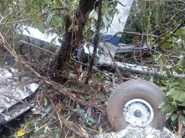 Os três brasileiros que estavam a bordo morreram (Foto: Reprodução/Facebook/Fanor Gómez Ruiz)