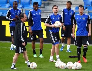 Lampard treino Chelsea (Foto: Getty Images)