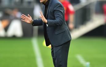 """Argel atribui empate do Figueirense à não """"expulsão de concurso"""" de Cássio"""