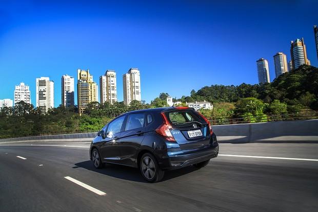Honda Fit EXL Traseira (Foto: Divulgação)