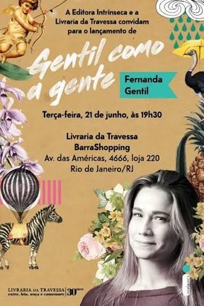 Gentil como a Gente, de Fernanda Gentil (Foto: Divulgação/Editora Intríseca)