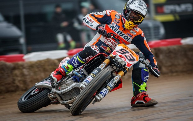 marc marquez dirt track new