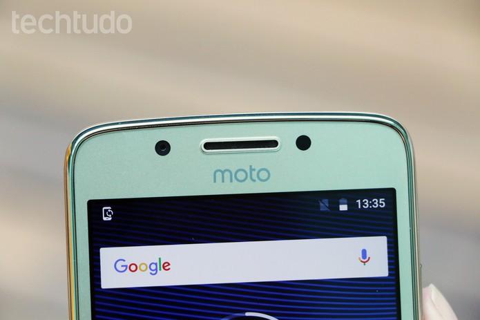Moto G5 (Foto: Anna Kellen Bull/TechTudo)