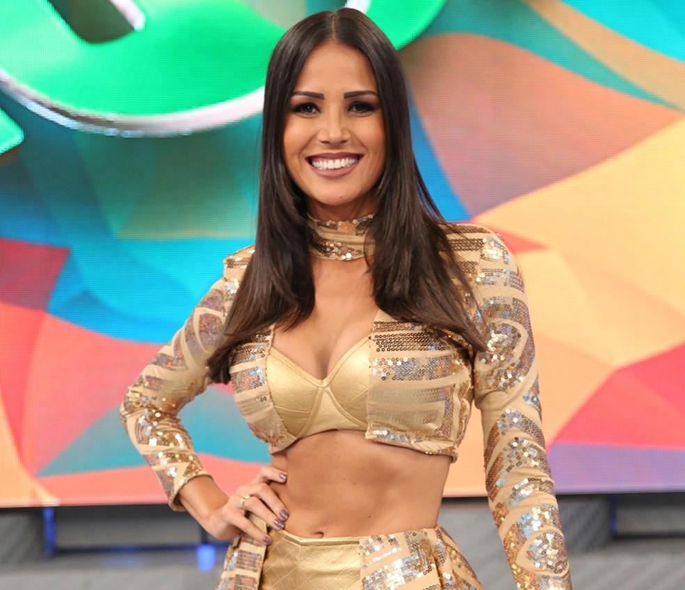 Leisiane Almeida é personal trainer, além de bailarina (Foto: Carol Caminha / Gshow)