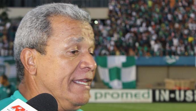 Hélio dos Anjos - técnico Goiás (Foto: Fernando Vasconcelos / Globoesporte.com)