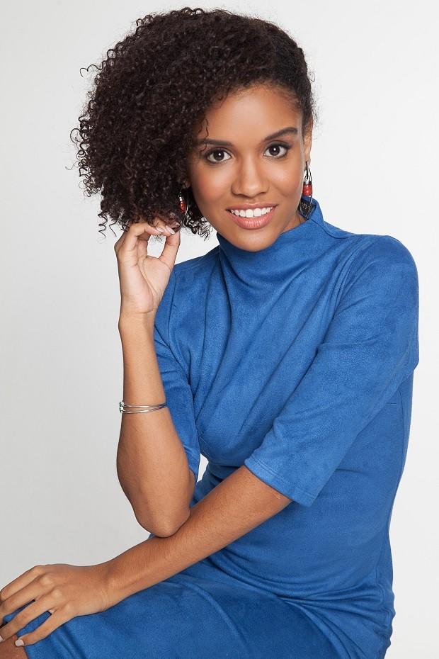 Heslaine Vieira, protagonista de Malhação, fala sobre empoderamento negro (Foto: Ricardo Penna/ Divulgação )