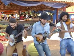 o Bardo e o Banjo  (Foto: Reprodução/ TV Morena)