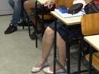 Dupla faz arrastão em escola e leva até tênis dos estudantes em Goiânia
