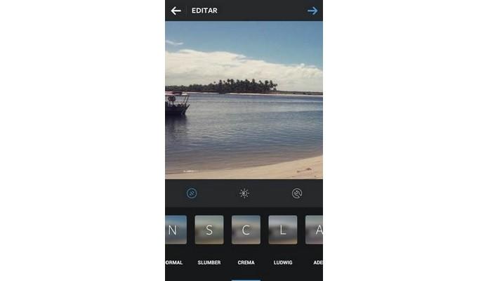 Efeito do filtro deve combinar com imagem do vídeo ou foto (Foto: Divulgação/Instagram)