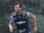 Edu Dracena deixa treino do sentindo dores e será examinado no Palmeiras