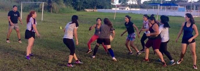PVH Rugby feminino (Foto: Porto Velho Rugby/Divulgação)