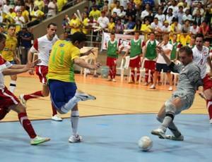 Brasil, de Jackson, vence a Polônia por 3 a 1, em Natal (Foto: Zerosa Filho-CBFS)