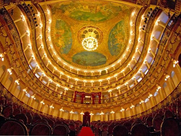Teatro Amazonas  (Foto: Divulgação/SEC)