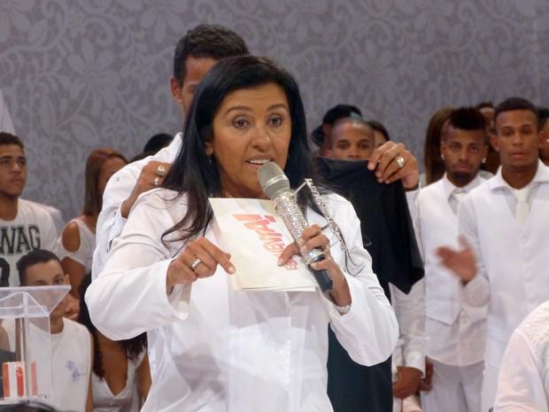 Regina Casé grava programa em homenagem a DG (Foto: Esquenta/TV Globo)