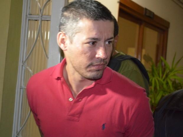 Jonny dos Santos foi preso nesta terça-feira (30) em Piracicaba (Foto: Thomaz Fernandes/G1)