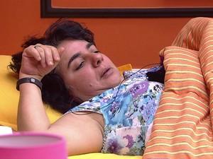 Mariza flagra beijo (Foto: TV Globo)