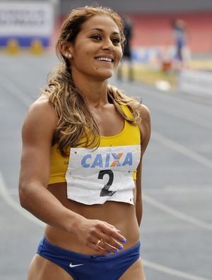 Ana Claudia Lemos, do atletismo, consegue excelente marca nos EUA (Foto: Divulgação)