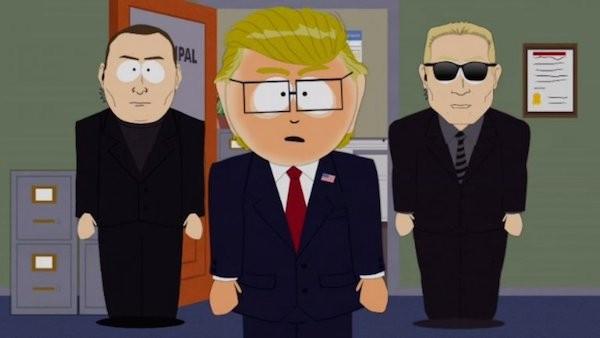 Donald Trump representado em 'South Park' (Foto: Reprodução)